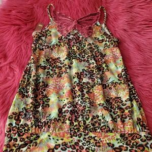 NWT Pink Butterfly Top